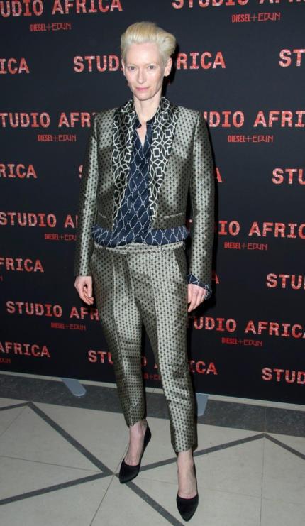 "Katherine Mathilda ""Tilda"" Swinton (born 5 November 1960) is an award-winning British actress and model known for both arthouse and mainstream films.  . http://www.solobuonumore.com/celebrita_dopo_qualche_anno/attrici-straniere/tilda-swinton/"
