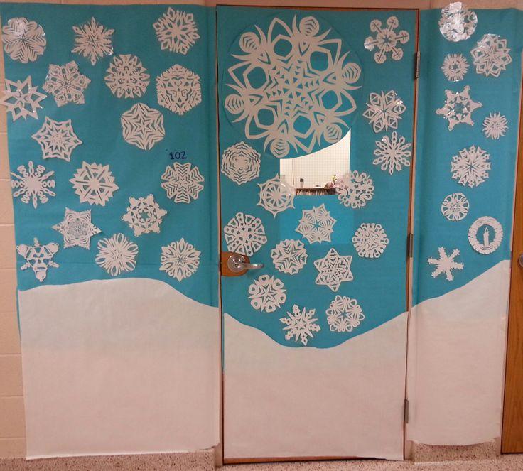 Winter Wonderland Classroom Decoration Ideas ~ Best school stage ideas images on pinterest