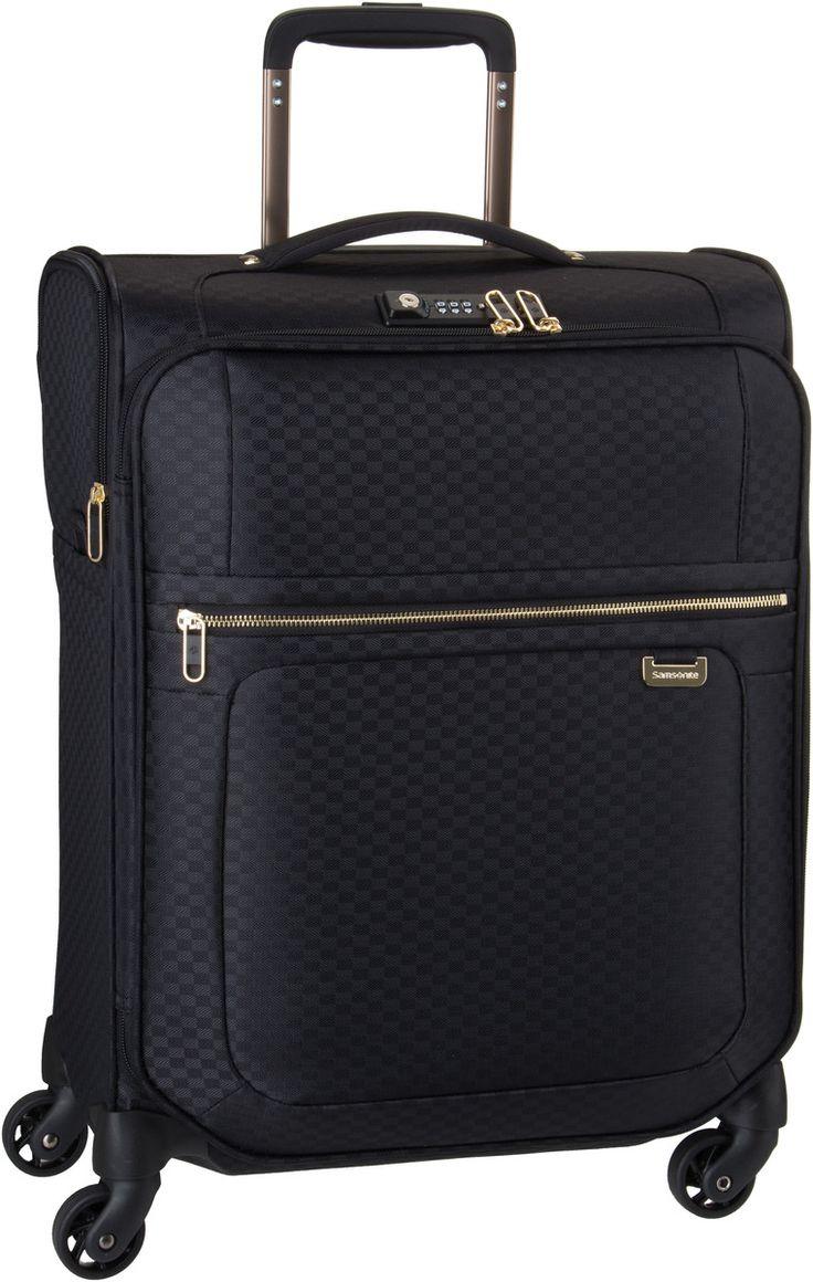 Taschenkaufhaus Samsonite Uplite Spinner 55 Black/Gold - Trolley + Koffer: Category: Taschen & Koffer > Trolley und Koffer >…%#Taschen%
