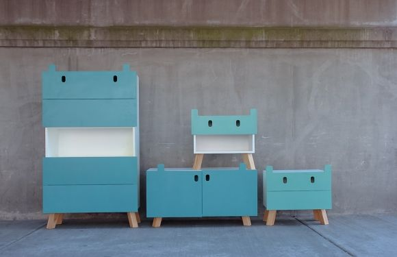 The Mostros (monsters) collection designed by Oscar Nuñez is born from the idea that you can impart into a piece of furniture, aimed at children, a personality that can generate a playful relationship between user and object.