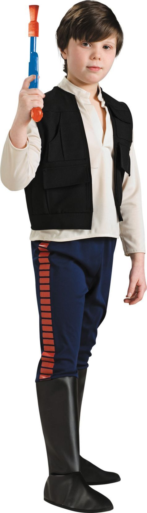 Boys Han Solo Costume - Star Wars Deluxe - New Costumes - Boys Costumes - Halloween Costumes - Party City