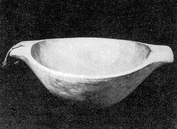 Kenyérszakajtó fatál (Sárospatak, Borsod-Abaúj-Zemplén m.) Bp. Néprajzi Múzeum