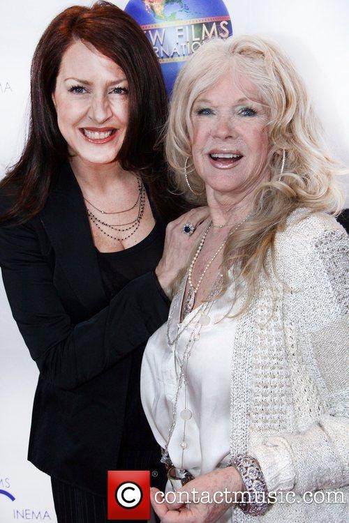 Actor Connie Stevens, mother of actor Joely Fisher
