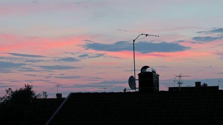Solnedgång/skymning i Vimmerby