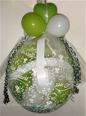 ... Geschenke im Luftballon verpacken on Pinterest  Hannover, Bonbon and