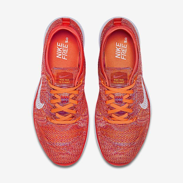 ... nike free tr 5 flyknit womens training shoe ...