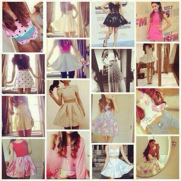 Petition for an Ariana Grande clothing line <<< SOOOO CUTE IM IN LOVE!