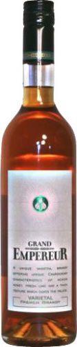 Grand Empereur Varietal Brandy, ein toller Brandy mit einem großartigem Preis-Leistungsverhältnis. Bestellen können Sie den Brandy hier in unserem zertifizierte