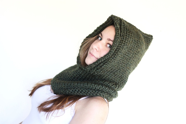 Hooded Neck Warmer Knitting Pattern : 199 best images about knitting on Pinterest Free pattern, Felted slippers p...