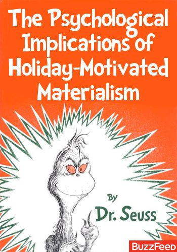 Dr. Seuss revealed The Grinch