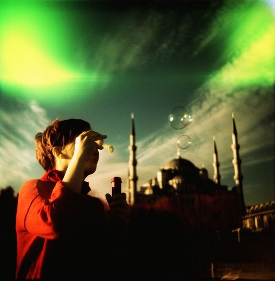 Photo of the Day by shoujoai: To blow bubbles in Istanbul... Hey that sounds like something new! But freezing moments with Lomography is surely not fresh to us. See today's featured Lomograph and take fun with those hapy bubbles