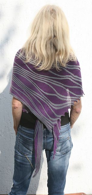 Swingy Hitchhiker by Heidrun Liegmann: Libraries, Swings Knits, Hitchhiking Patterns, Swingi Hitchhiking, Knits Crochet, Knits Scarves, Knitting, Shorts Row, Heidrun Liegmann