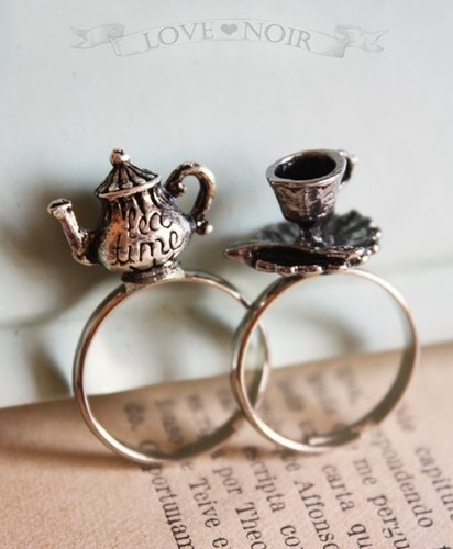 tea party ring . choose your ring