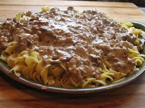 Beef Stroganoff Recipe - Low-Fat Beef Stroganoff Low Fat Recipe - Low Calorie Recipe