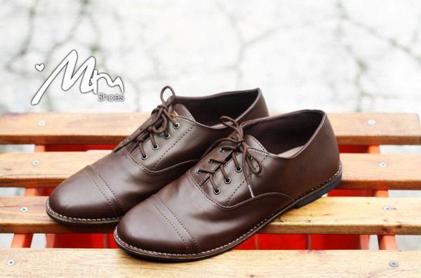 Sepatu MM Lady Brown Lace