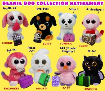 854c019ecf4 Beanie Boos Collection Retired