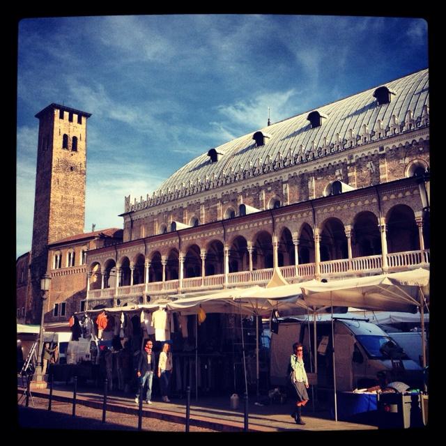 Piazza dei frutti, Padova