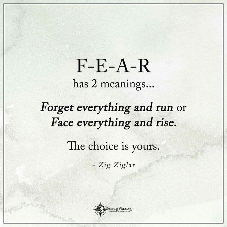 Inspirational Quotes About Fear: Top 25+ Best Fear Quotes Ideas On Pinterest