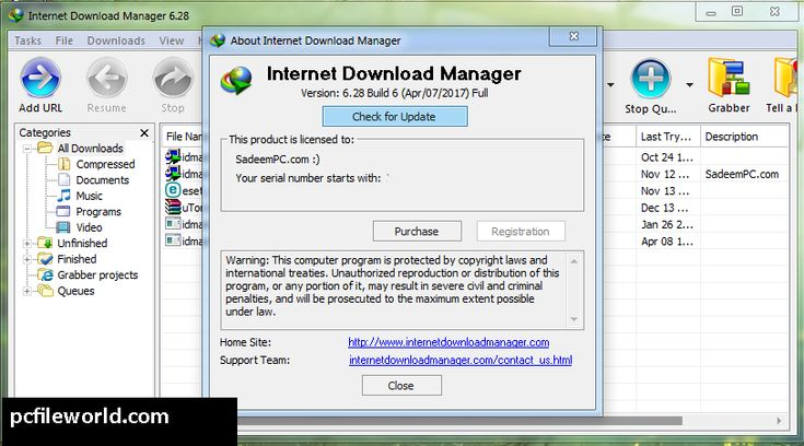 Internet Download Manager IDM 628 Build 17 + Patch 32bit 64bit - free resume downloader
