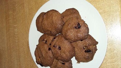 Μπισκότα χωρίς ζάχαρη με ταχίνι και cranberries Ζήκου Εύα , Διαιτολόγος Διατροφολόγος