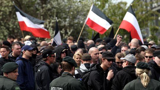 Rechtsradikalendemo in deutschland