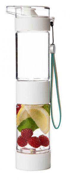 Define Bottle Sport - Detox Wasser Trinkflasche mit Früchteeinsatz Der TREND aus den USA