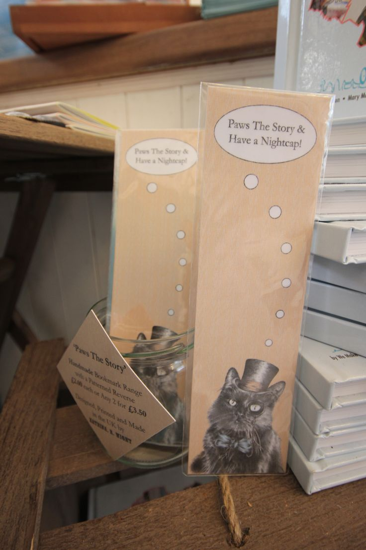 How about a funny bookmark? We Make London