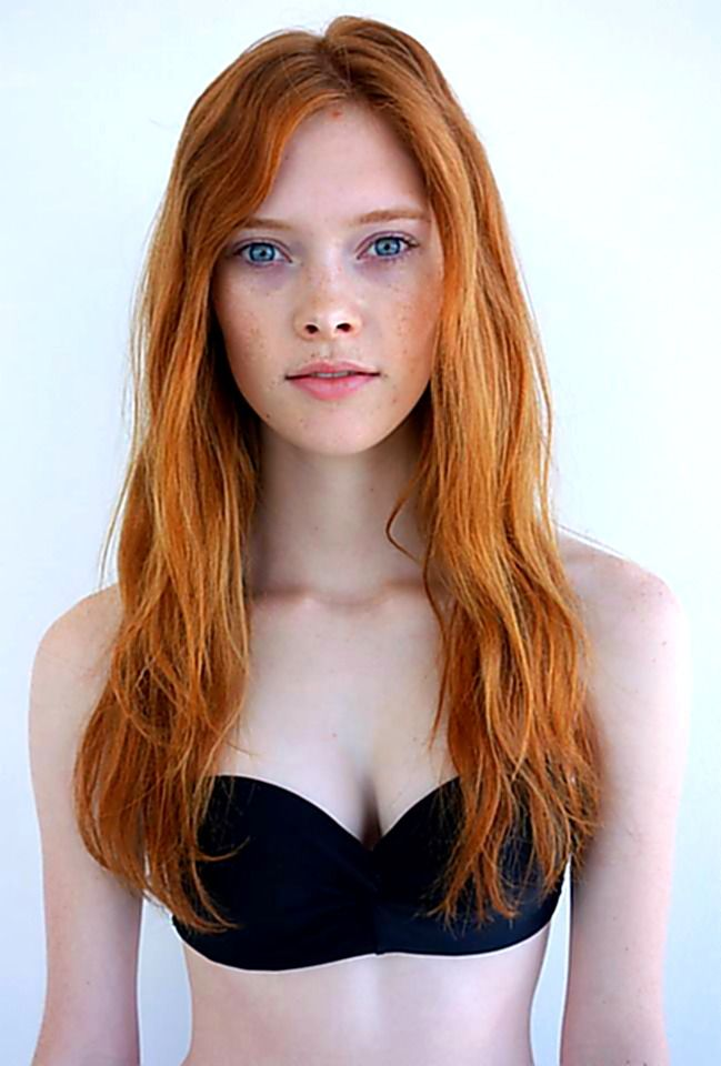 Model picture of redhead