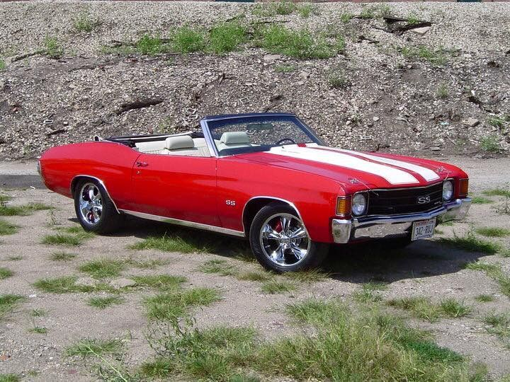 '72 Chevelle SS Convertible