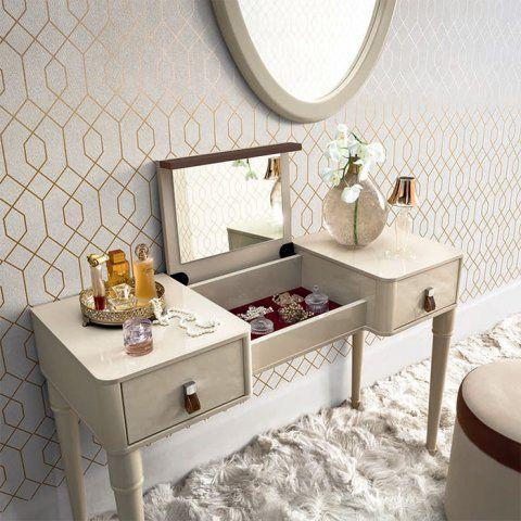 Alegro Cream High Gloss 2 Drawer Dressing Table With Flip-up Mirror #furniture #homedecor #interiordesign #bedroom #woodenfurniture #italian #italy #italianfurniture #bedside #beds #chestofdrawers #wardrobes #bedroomfurniture #luxuryfurniture #luxury[CAM_ALTEA_DRESSING-TABLE] - £675.00 : Basic Elegance Furnishings Ltd (scheduled via http://www.tailwindapp.com?utm_source=pinterest&utm_medium=twpin&utm_content=post174502575&utm_campaign=scheduler_attribution)