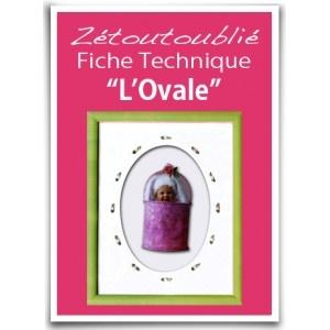 L'Ovale Par Christine Truchet    ATTENTION, version téléchargeable uniquement.