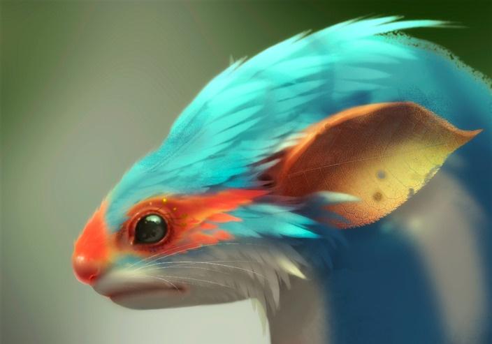 Fantasy Creature by Hsu-Yu-Hao                                                                                                                                                     More