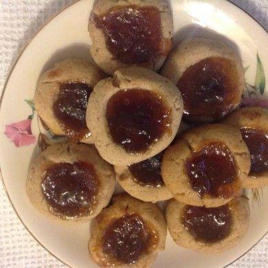 Jam Drop Biscuits