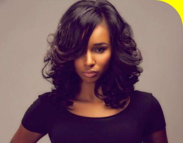 Medium Length Black Hairstyles