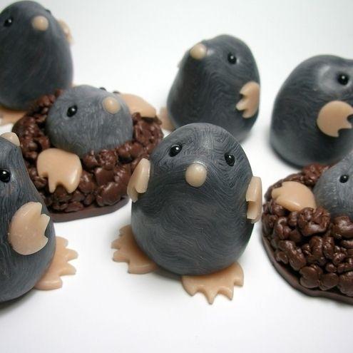 Air dry clay idea, mole