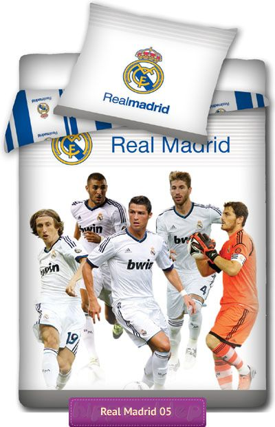 Especially for Real Madrid fans bedlinen with all stars see on http://hippo-sklep.pl/real_madrid.html #real_madrid #ronaldo