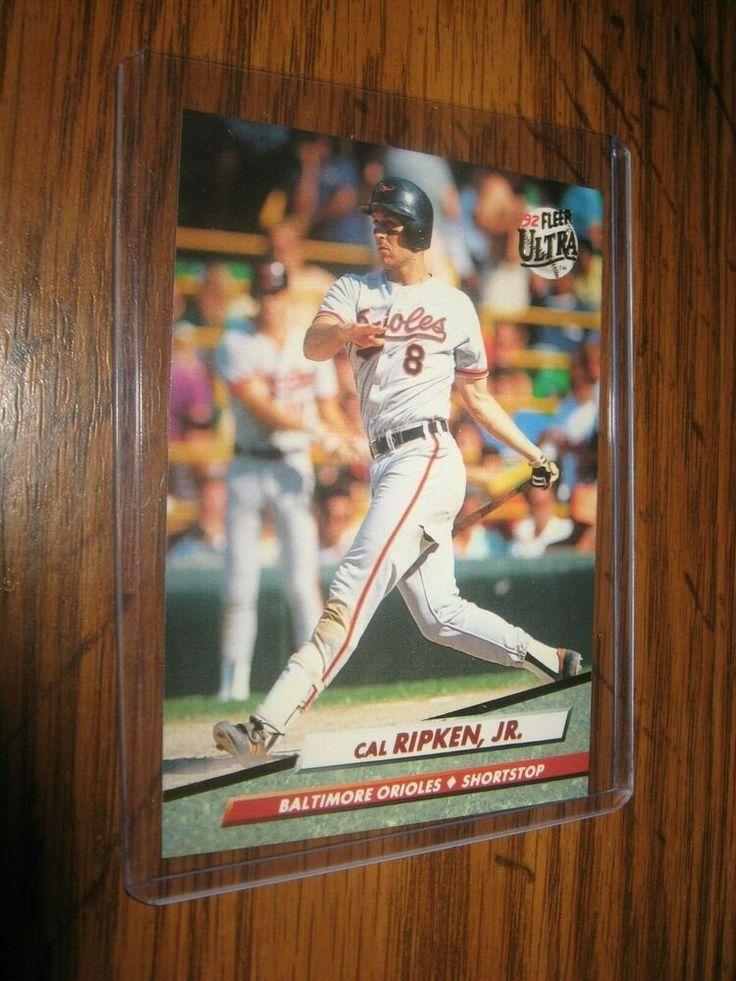 MINT 1992 Fleer Ultra 11 Rare Cal Ripken Baseball Card