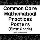 FREE!!! Common Core Mathematical Practices Posters (First Grade)