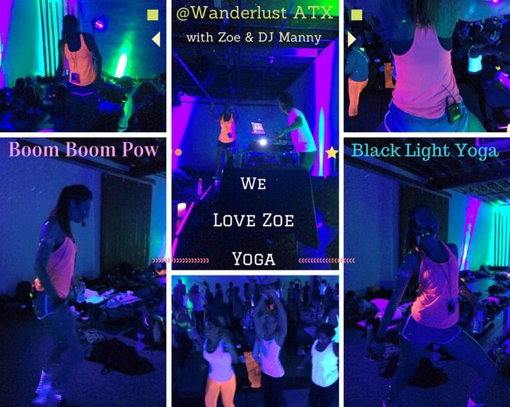 Full on #partyyoga with DJ Manny and Zoe Mantarakis  Photo Credit: Nanette Labastida who is assisting Zoe Mantarakis in a couple of #yogaclasses for #WanderlustYogaFestival. — at Wanderlust Yoga Austin