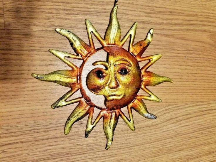 25 best projects to try images on pinterest half face sun wall art metal garden hanging indoor outdoor decor fandeluxe Images