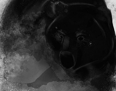 "Check out new work on my @Behance portfolio: ""BEAR"" http://be.net/gallery/34643579/BEAR"