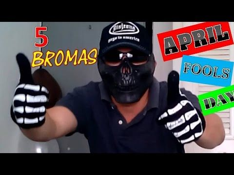 5 Bromas Para Hacer En April Fool's Day Pranks! Part 1 - YouTube