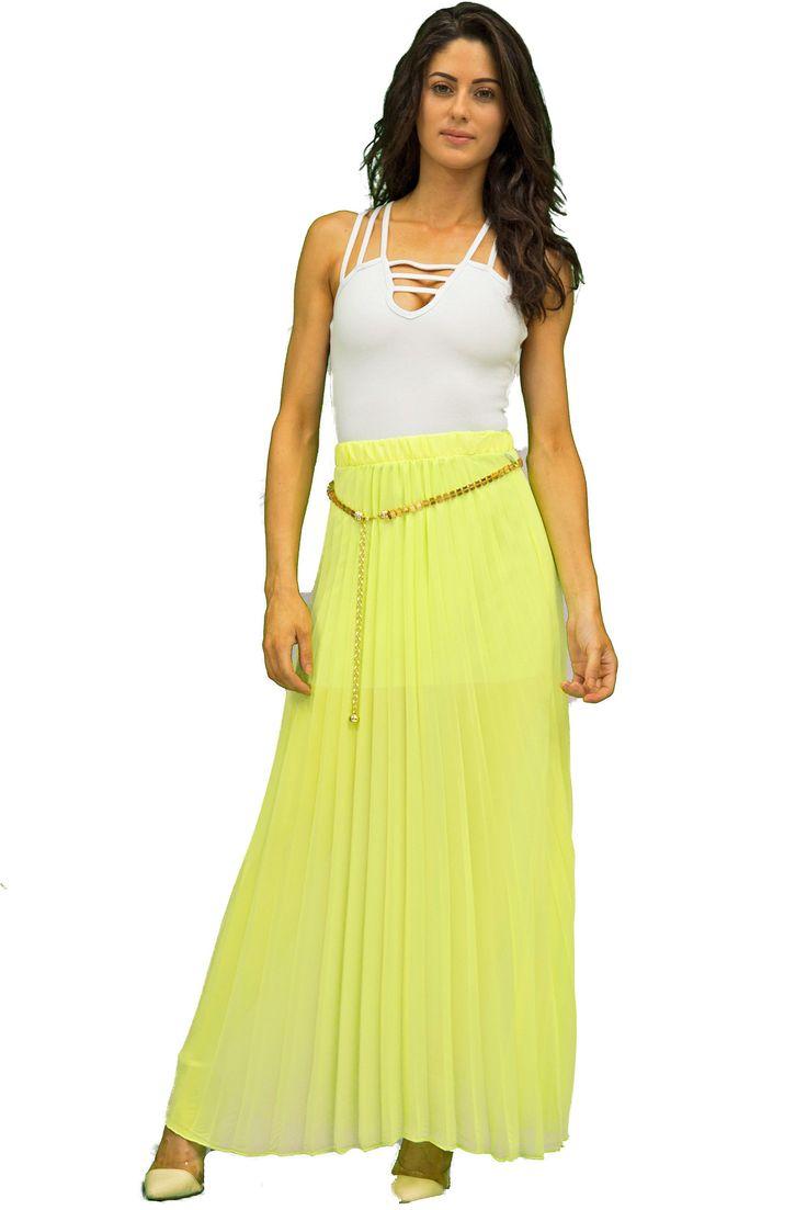 17 Best ideas about Yellow Maxi Skirts on Pinterest | Women's ...