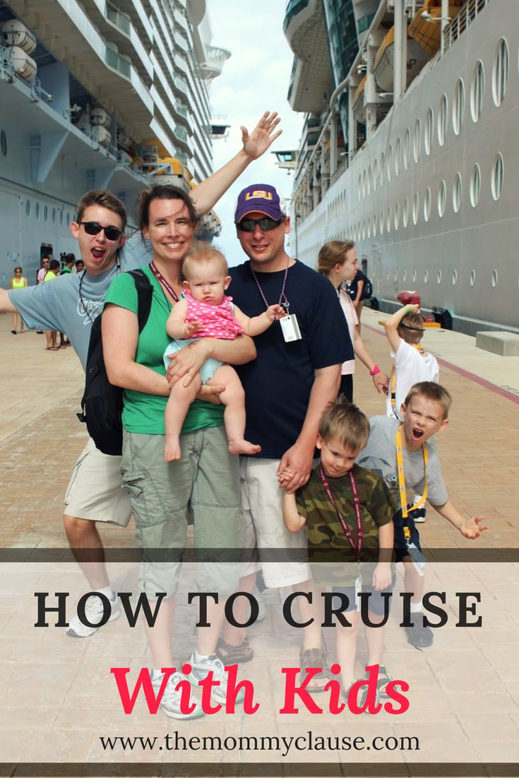how to cruise with kids | themommyclause.com