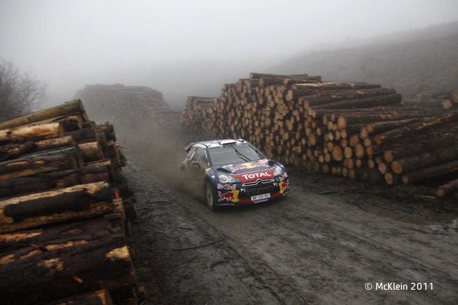 Wales Rally GB 2011: Sebastien Loeb