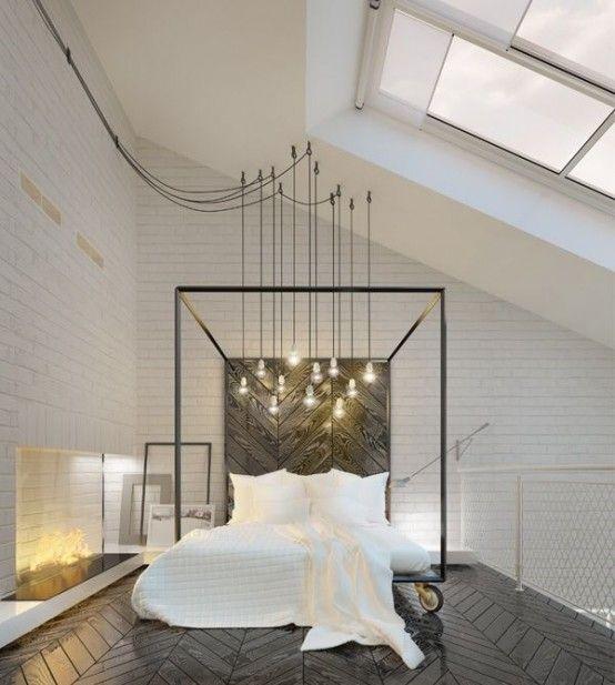 40 idee per decorare ed arredare casa utilizzando i tubi in stile industriale. Lampade, scaffali, appendiabiti, letti, complementi di arredo, cucina, soggiorno.