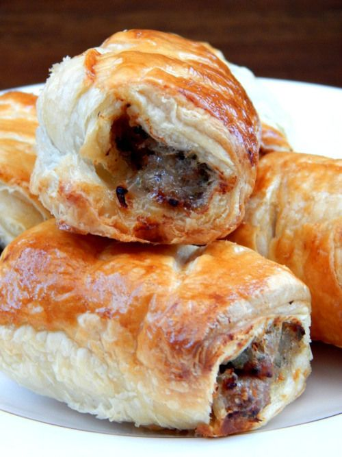 What s cooking quick and easy sausage rolls food e for Sausage roll recipe uk