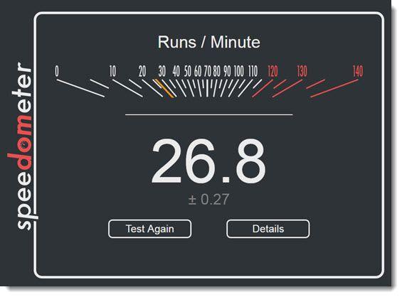 Как узнать скорость браузера