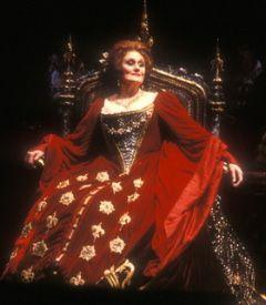 "Dame Joan Sutherland as Anne Boleyn in ""Anna Bolena"" (1984)"