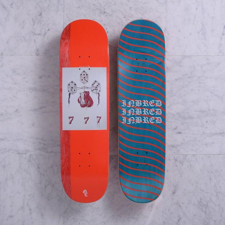 Quasi Gilbert Crockett Rust Deck Red 8.5